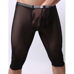 Pantalones Cortos Short De Malla Transparente Sexy Y Erotico