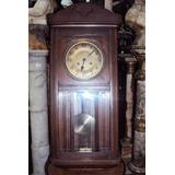 Reloj De Pared A Péndulo Con Caja De Roble (1789)