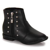 Ankle Boots Infantil Molekinha - 25 Ao 34 - Preto