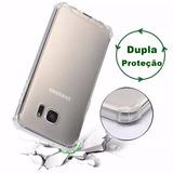 Capa Capinha Air Anti-impacto Celular Samsung Galaxy S7 Flat