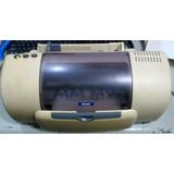 Impresora Epson C60 Con Sus Cartuchos Usada