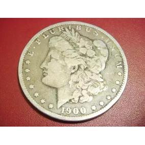 Moneda Dolar Plata Morgan 1900 Nueva Orleans Envió Gratis