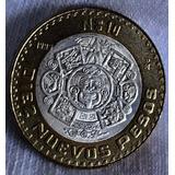 Moneda $10 Nuevos Pesos 1993 Centro De Plata Envio Gratis