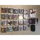 Nintendo Dsi Xl + 20 Juegos + Estuche + Protector