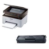 Impresora Samsung Laser Multifunción Sl-m2070w + Toner Extra
