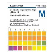 Papel Indicador De Ph 0-14 Merck 100 Tiras 10cx
