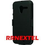 Pelicula + Clip Cinto Nextel Motorola Moto X Em 2 Partes