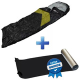 Saco De Dormir Camping Viper + Isolante Térmico Nautika