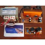 Modulo 100+100 W Puenteable A 200 W Con Fuente Trafo Y Disip