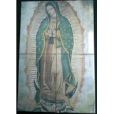 Virgen De Guadalupe En Azulejos 60x40cm C60441