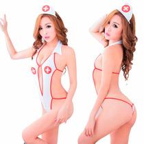 Disfraces Halloween Disfraz Adulto Enfermera Sexy Baby Doll