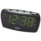 Radio Reloj Despertador Jensen Jcr-208a