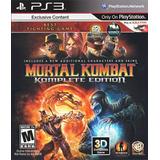 Mortal Kombat 9 Komplete Edition Ps3 Digital Entrego Hoy!!!