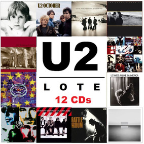 U2 - The Studio Albums [lote 12 Cds] Boy Joshua October Pop