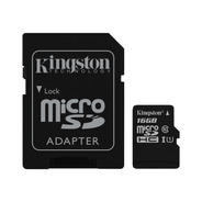 Memoria 16g Kingston Microsdhc Canvas Select