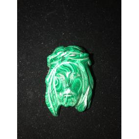 Figura Rostro De Jesús Cristo En Jade