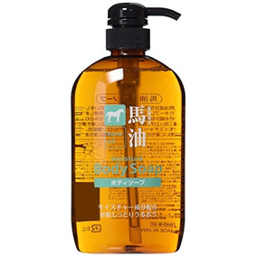 Kumano Fat Horse Oil Body Soap 600ml By Kumano Oils And Fats