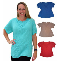 Blusa Camisola Romi Mujer Talles Grandes Mythos 30% Off