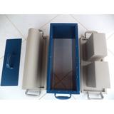 Kit Forma D Bloco E Canaleta 15 (14x19x39cm Cimento Concreto