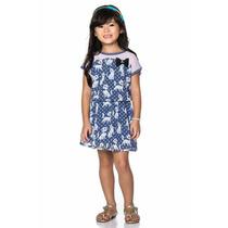 Vestido Infantil Turma Da Malha Tamanho 12 - Natgio