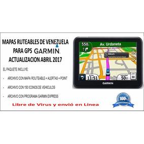 Mapa Ruteables Gps Garmin Venezuela Abril 2017