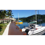 Velero Catamaran Angras Dos Reis Brasil 2 Motores Yanmar
