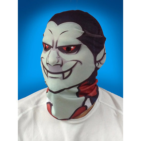 Máscara De Vampiro Caricatura En Lycra Y Con Envío Gratis