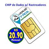 Chip Telemetria Para Rastreadores + Plataforma Rastreamento
