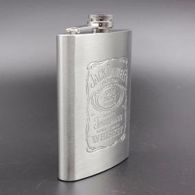Cantil Jack Daniels 210ml Aço Inox - Frete Grátis.