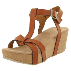 Sandalia Cuña Dama Mujer Zapato Plataforma Dorothy Gaynor