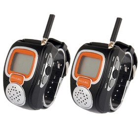 Walkie Talkie Portatil 462mhz-467mhz Freetalker Reloj Hasta