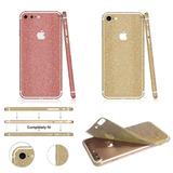 Adesivo Glitter Brilho Dourado Prata Onça Iphone 6 6s Cobre