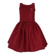 Vestido Infantil Festa Vermelho Katitus Tam: 6 Ao 12 (1489)