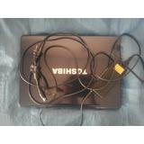 Laptop, Computador Portatil, Notbook Toshiba, 3g De Ram