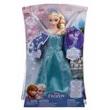 Boneca Elsa Musical Disney Frozen - Mattel Cmk56 Original