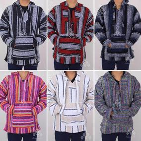 Lote 25 Piezas Chamarra Poncho Suéter De Jerga Artesanal
