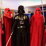 Traje Disfraz Darth Vader Star Wars Talla Adulto Con Luces