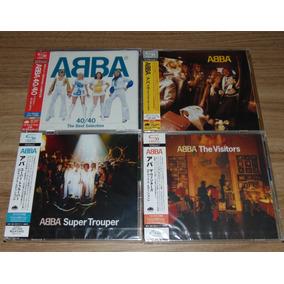 Abba - 5 Shm Cd + 3 Dvds - Remasterizados - Japoneses