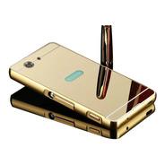 Funda Espejada Mirror Case Sony Xperia Z4 + Templado