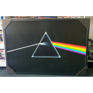 Pink Floyd- Dark Side Of The Moon Pôster Moldurado