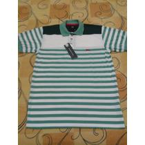 Camisa Polo Tng Listada Tamanho P Novo Com Etiqueta Sacola