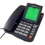Aparelho De Telefone C/ Fio Id Viva Voz Bina Maxtel Mt-129