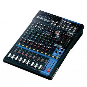 Mesa De Som Yamaha Mg12 Xu 12 Canais Audio Mixer
