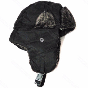 Gorras Ushanka Rusa Esquimal Estilo Ruso Gorro Aviador Negro