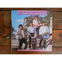 Los Manantiales Santiagueños Lp Vinilo Promo Argentina