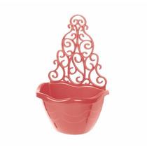 Floreira Suspensa Vertical + 1 Vasos Varanda- Plantas- Mudas