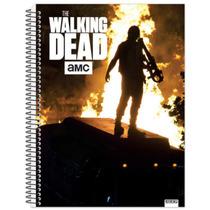 Caderno The Walking Dead 10 Materias 200 Folhas Frete Gratis