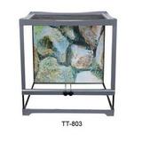 Terrario Tt803 45x45cm Para Mascotas Dophin Pethome Chile