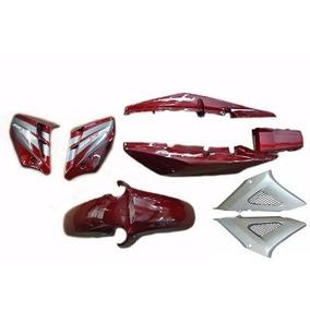 Kit Completo Carenagem Cbx 250 Twister Vermelh 2007 Adesivad