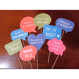 Carteles Photobooth Con Frases Kit Imprimible Baby Shower